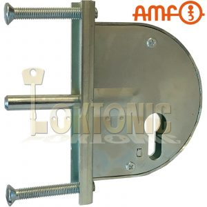 AMF104Z Heavy Duty Gate Sash Lock For Wrought Iron Gates Made In Germany