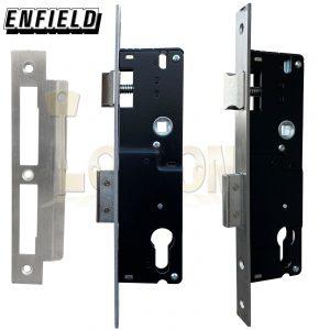 Enfield 35mm Backset Narrow Stile Shed Gate Garage Mortice Euro Sash lock case