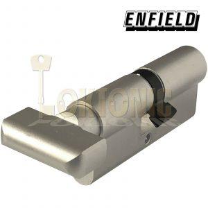 Enfield 70mm Knob Turn Euro High Security Cylinder Anti Drill Bump Locks Barrel