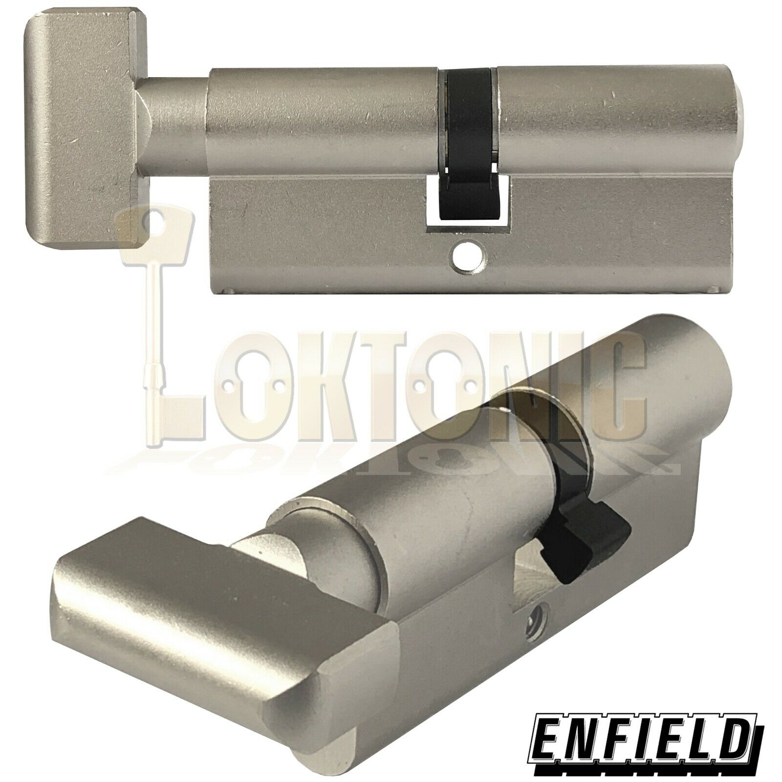 Enfield 70mm Knob Turn Euro High Security Cylinder Anti Drill Bump Locks Barrel