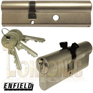 Enfield Contract Banham L111 Type Nightlatch Euro Double Cylinders Lock Barrels
