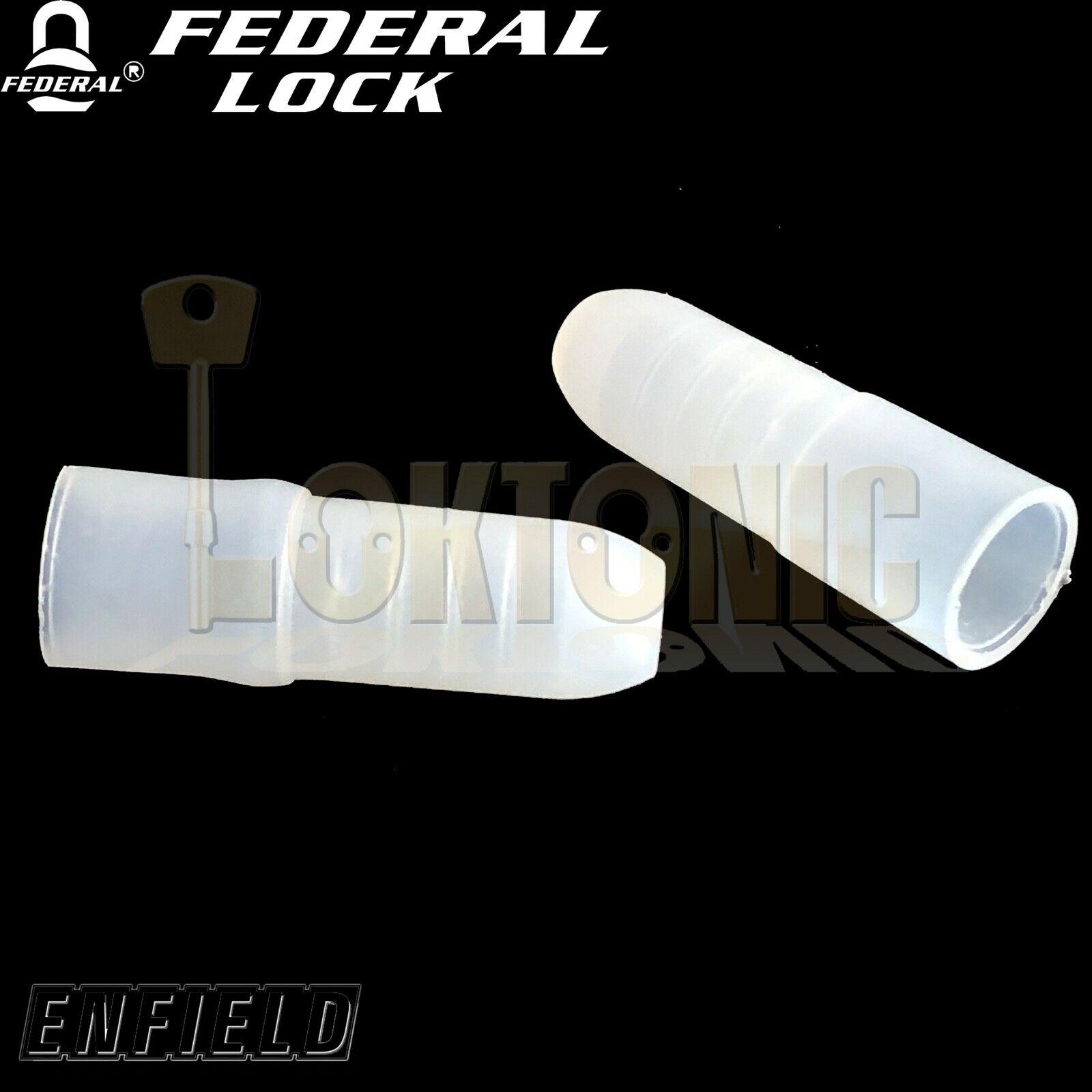 Enfield D613 Spare Garage Door Bolt Key Caps Pocket Protectors