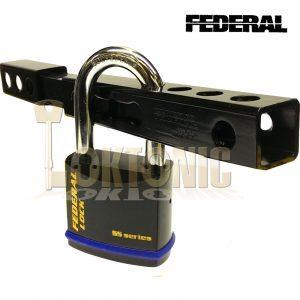 Federal FD5095 High Security Long Throw Gate Shed Garage Sliding Lock Dead Bolt