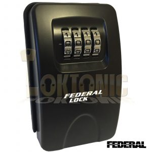 Federal Outdoor High Security Home Wall Mounted Combination Key Safe Lock Box