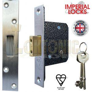 Imperial Lock BS362 British Standard Heavy Duty 5 Lever Mortice Deadlock