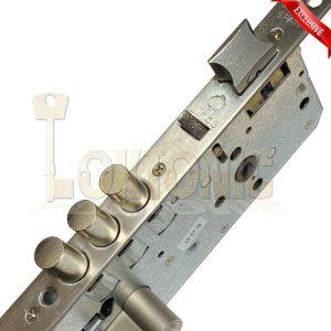 Lince 3 BOLT High Security Mortice Euro Sash Lock Case 5 Dimple Key Fire EN12209