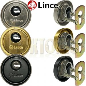 Lince High Security Euro Cylinder Escutcheon Keyhole Cover Plate Van Doors