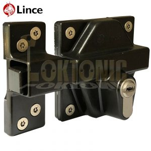 Lince Weld High Security Heavy Duty Euro Gate Slide Bolt Lock Wrought Iron Gates