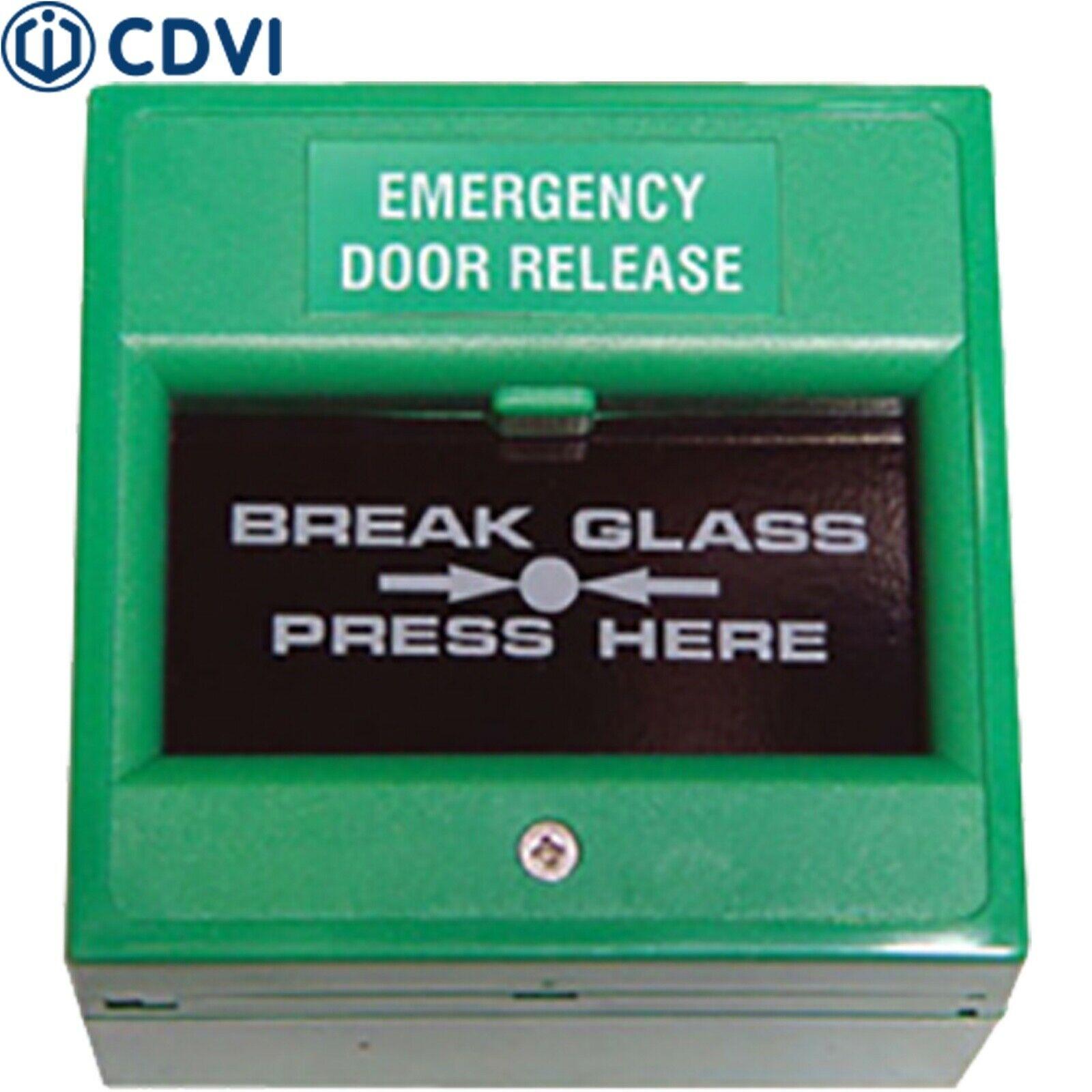 EM200 Double-Pole, Break Glass Emergency Door Release Rim Fitting