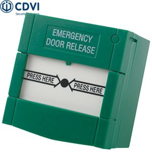 EM201 Double-Pole, Resettable Emergency Door Release