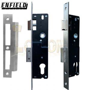 Enfield 30mm Backset Narrow Stile Shed Gate Garage Mortice Euro Sash lock case