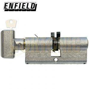 Enfield Contract 363 Knob Turn Euro Twin Split Cam Deadlock Cylinder Suit Banham
