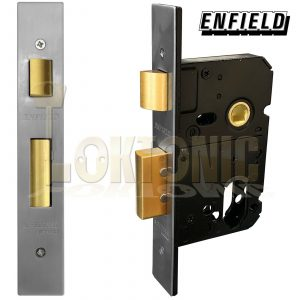 Enfield D735D Dual Profile Euro Oval Cylinder Mortice Sash Lock Case