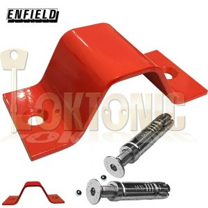 Enfield Floor Wall Ground Anchor Security Bicycles Quad Bikes Lawnmower Ladders