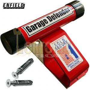 Enfield Security Garage Door Defender Up And Over Quad Bike Motorcycles Stop Bar