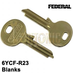 Federal Genuine Key Blanks To Fit Any 6pin 6YCF-F6R23 BSI 3 Star Cylinders
