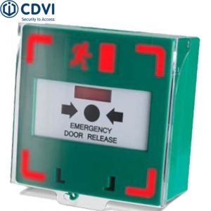 EM301LS Triple-Pole Resettable Emergency Door Release With Light And Sounder