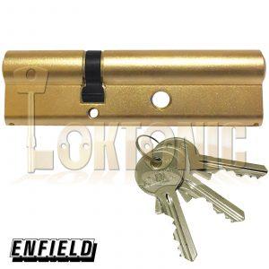 Enfield 35-70mm Banham L111 Type Nightlatch Euro Double Cylinders Lock Barrels