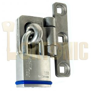 Federal Heavy Duty T-Shape Solid Stainless Steel Shed Garage Hasp Padlock FD701S