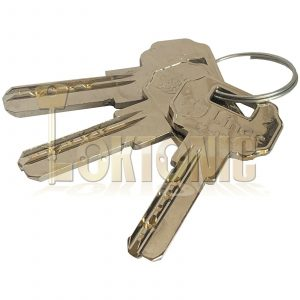 Lince High Security Dimple Keyway 50mm Solid Brass Padlock Hardened Shackle
