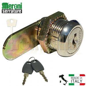 Meroni ME2651-16mm Camlock Locker Lock Mail Box Furniture Lock Tool Post Box