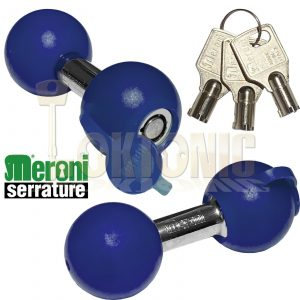 Meroni Motorcycle Disc Lock Cycle Bike High Security Bell Padlock Made In Italy