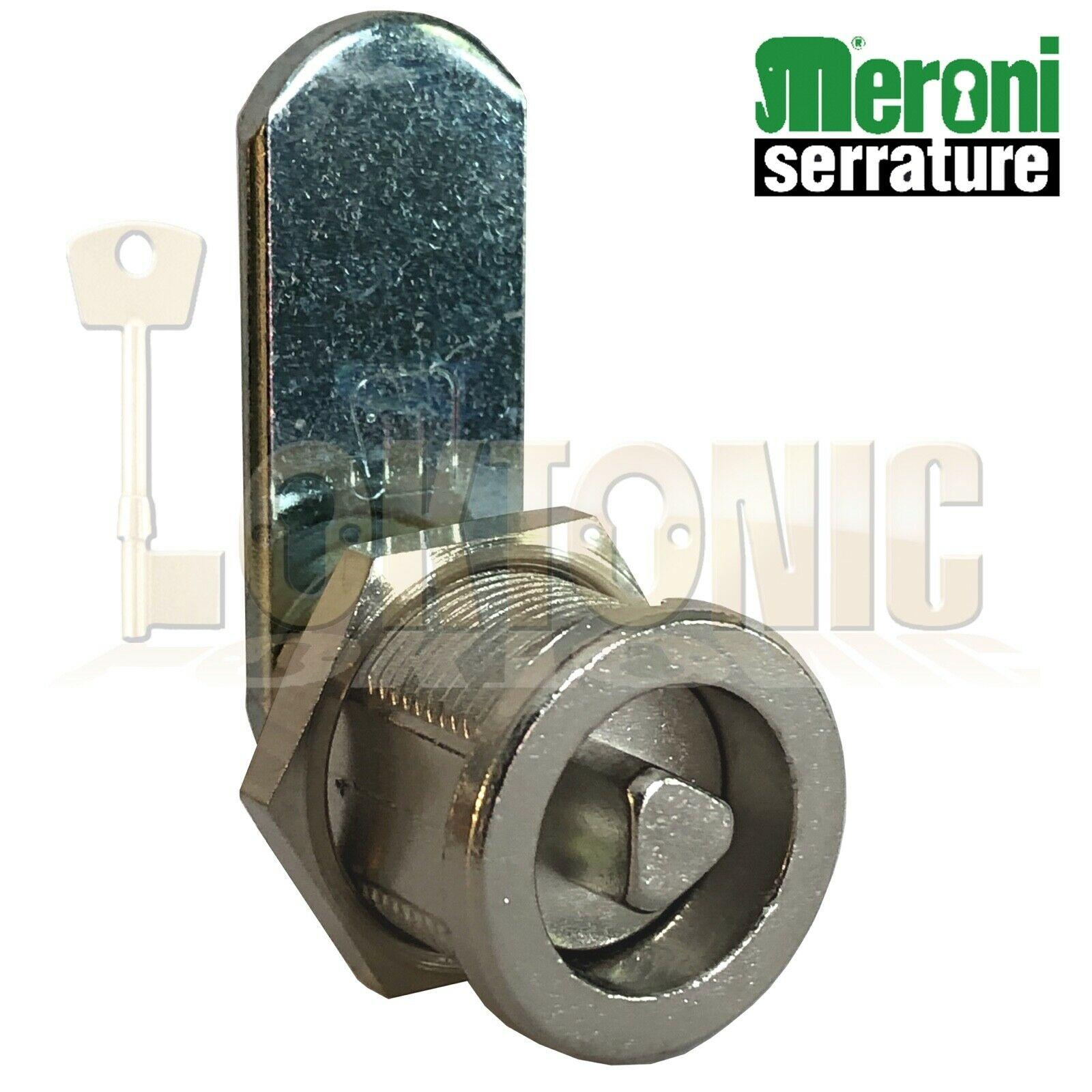 Meroni Triangle Cam lock Locker Lock Mail Box Furniture Made In Italy
