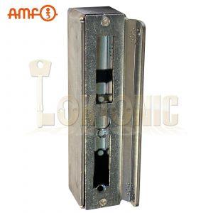 AMF 147B Heavy Duty Steel Cased Striker Box Wrought Iron Gates For Welding#