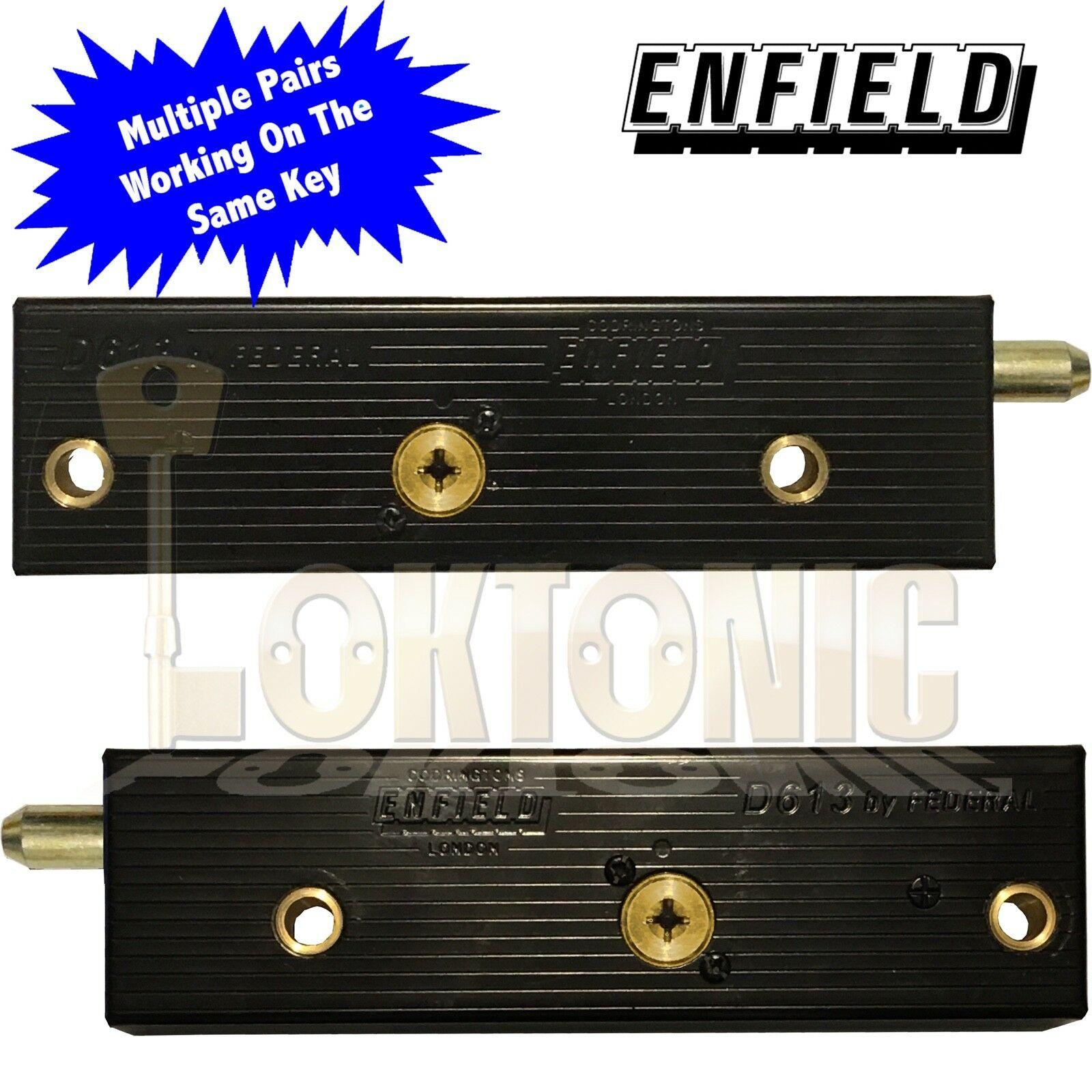 Enfield D613 Garage Door Bolts Locks Multiple Pairs All