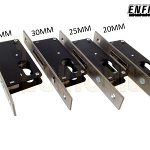 Enfield D721 Narrow Stile Van Door Shed Gate Garage Mortice Euro Deadlock case