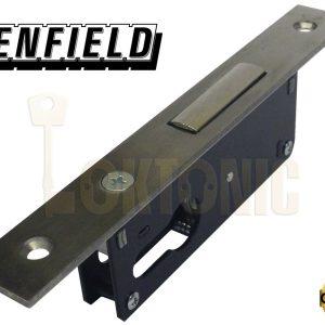 Enfield D721 Narrow Stile Van Door Shed Gate Garage Mortice Euro Deadlock case