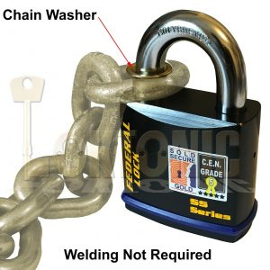 Federal Chain Retaining Washer For FD740 14mm Diameter Shackle Padlock