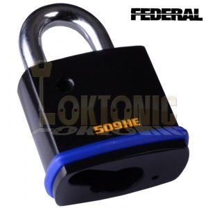 Federal FD509-HE Open Shackle Padlock Body To Suit Half Euro Cylinders