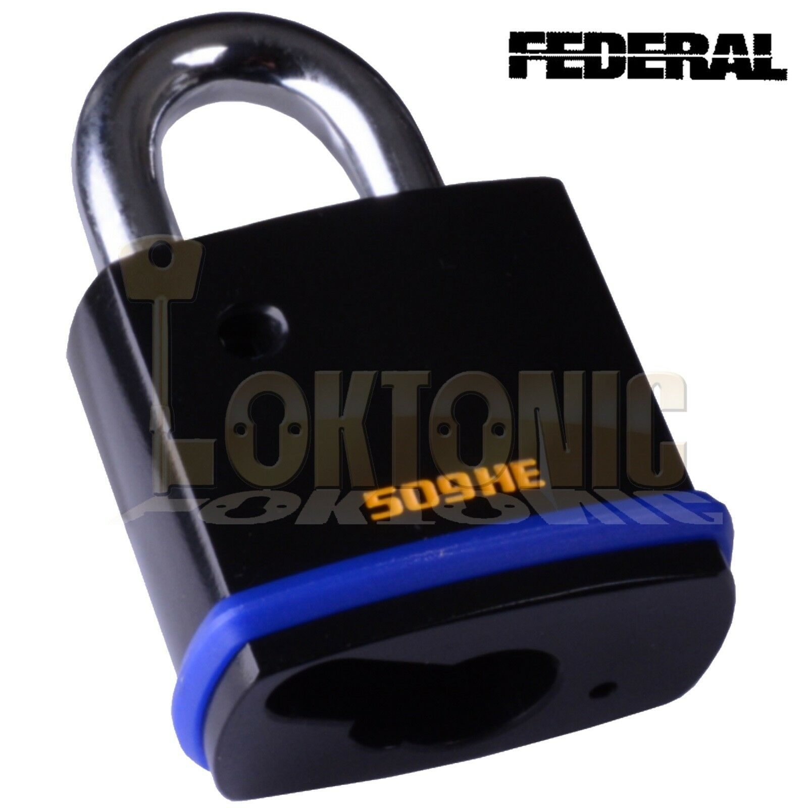 Federal Fd509 He Open Shackle Padlock Body To Suit Half
