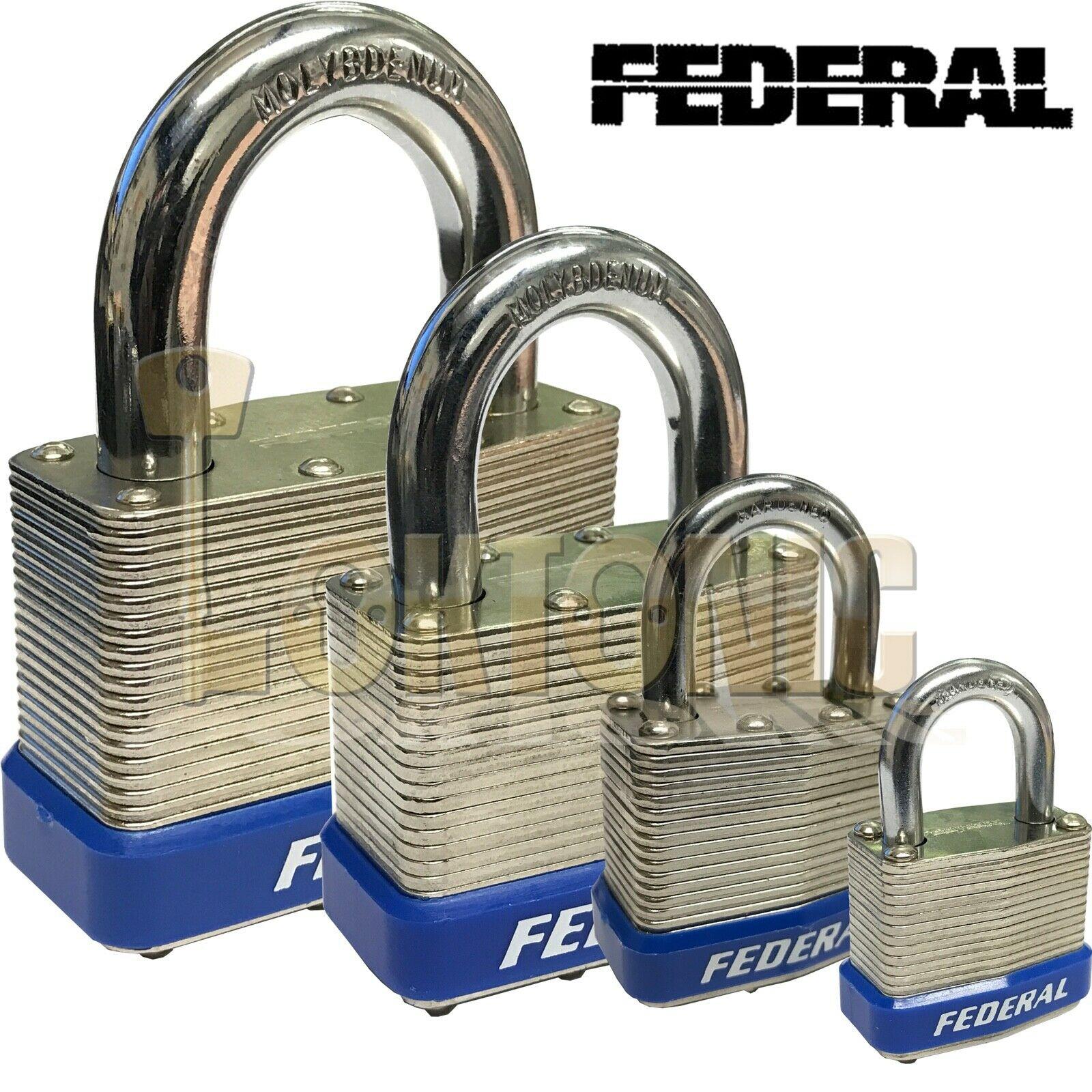 Federal High Security Laminated Steel Padlocks Sheds Vans Gates