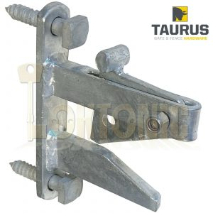 Heavy Duty Galvanised Auto Self Locking Pin Field Gate Catch Latch