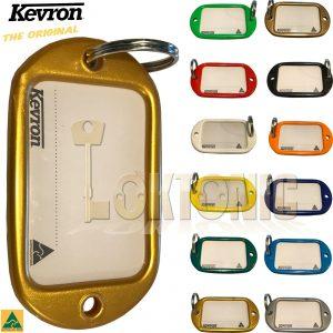 Kevron Genuine Giant Hotel Key Tag Garage Car Show Room Lockers ID10 AC Pack 50