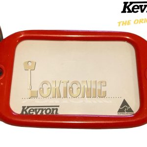 Kevron Pack10 Red Large Hotel Key Tags Garage School Car Show Room Locker Shed