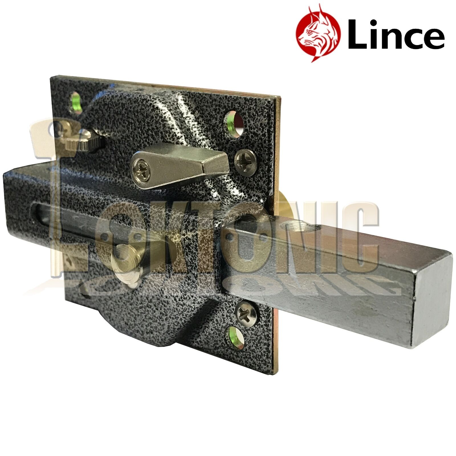 Lince Black Lock High Security Heavy Duty Garden Gate Shed
