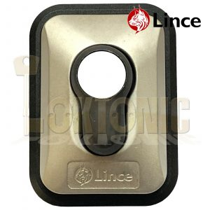 Lince High Security Euro Cylinder Escutcheon Keyhole Cover Plate Front Doors Van