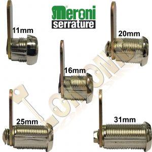 Meroni Camlock Locker Lock Mail Box Furniture Tool Box Post Box Made In Italy